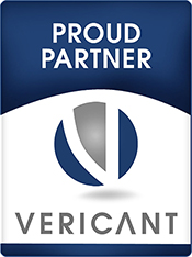 proud partner of vericant
