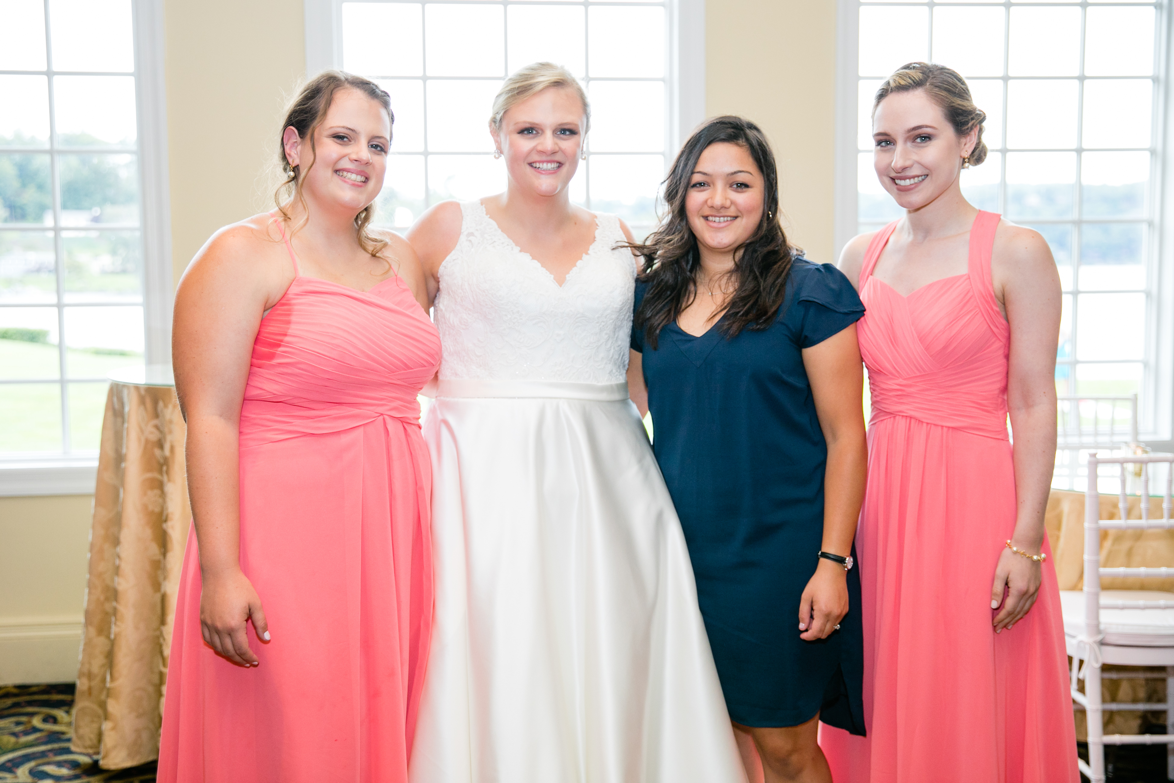a1f6c55ee728 Hannah Tanguay married Sean Dunphy on Sept. 8 in Woodbury, Connecticut.  Several of Hannah's WMA friends were present at the wedding, including  (left to ...