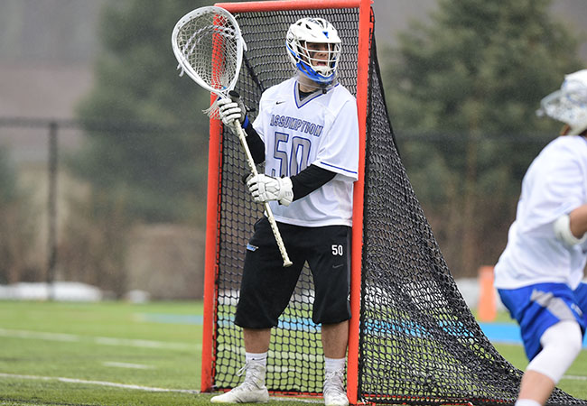 06d78a643cf Colby Hamwey, a junior at Assumption College, has been named to the New  England Intercollegiate Lacrosse Association Division II All-New England  Preseason ...