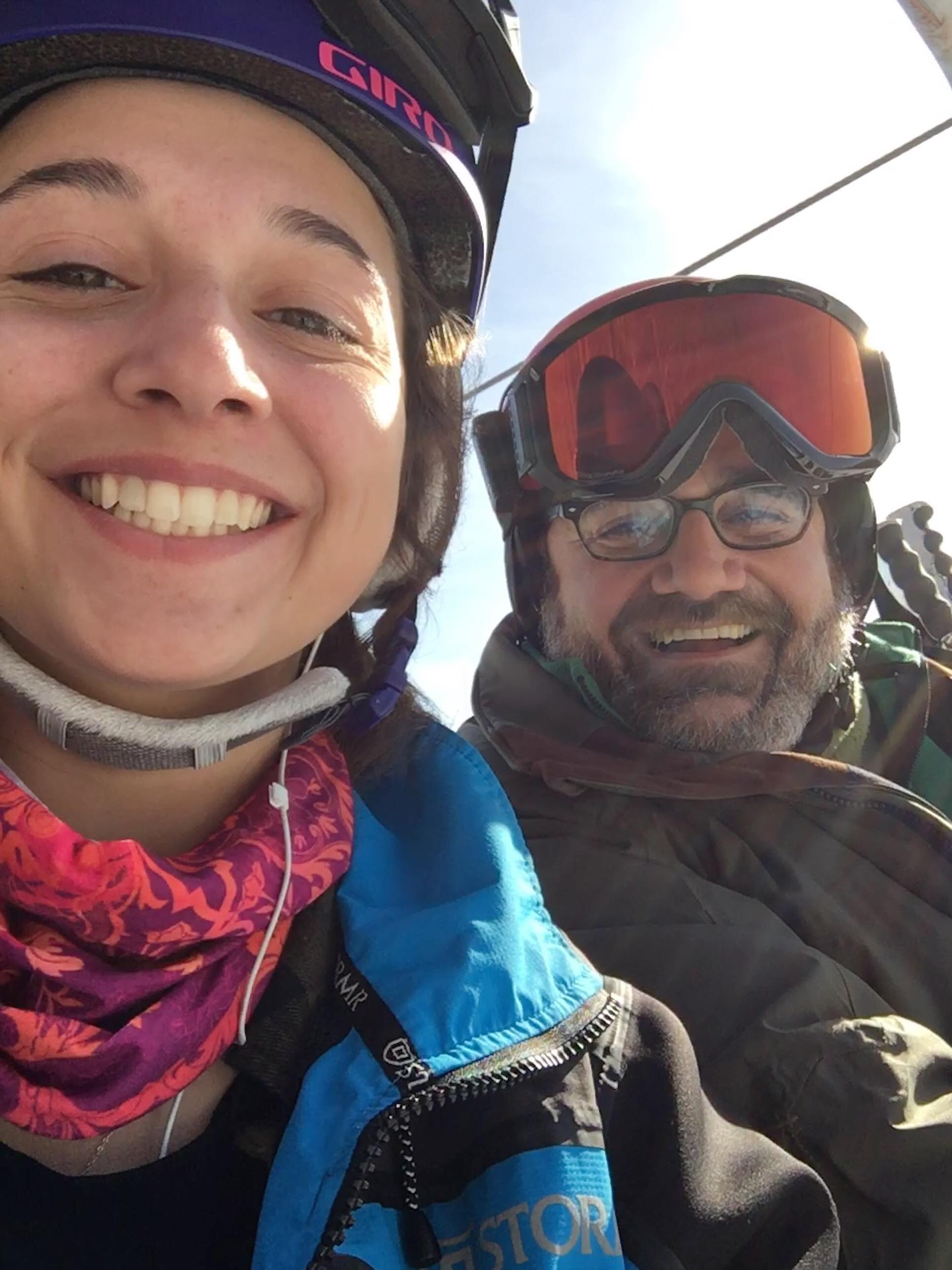 c773e68acd2bc Erin Demers  16 was skiing at Mount Snow in Vermont during her January  break when she struck up a conversation with a gentleman on the lift.