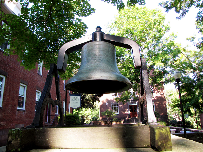 the monson bell on campus