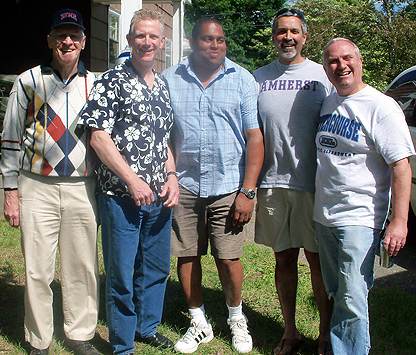Happy 50th Birthday Eddie Shore III 79 Second From Left Celebrates Here With His Dad Ted Jr 48 Jerry Johnson Dr Rajiv Desai 80